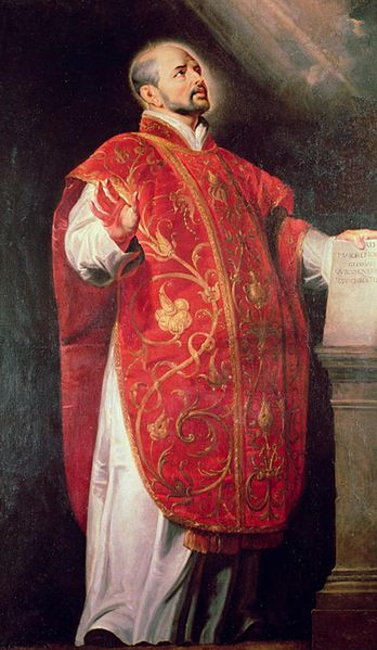 St. Ignatius of Loyola.
