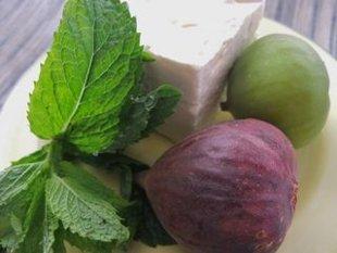 Figs and feta.